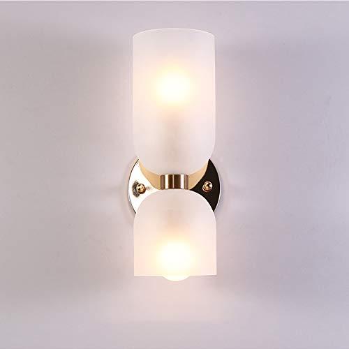 DERUKK-TY Lámpara De Techo LED, Lámpara De Pared De Vidrio De Arte Minimalista Moderno Nórdico Escalera Creativa para Porche Sala De Estar Dormitorio Lámpara De Pared De Fondo