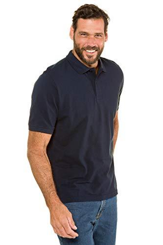 JP 1880 Homme Grandes Tailles Polo Manches Courtes en Coton Bleu Marine foncé 3XL 702560 70-3XL