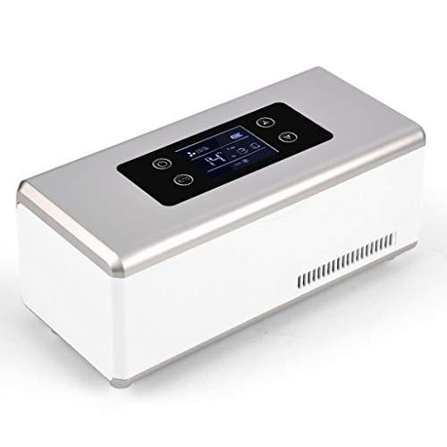 L@LILI Medizinische Geräte Portable Mini-Insulin-Kühlbox Auto-Kleinkühlschrank Haushalts-Gefrierschrank Keine Batterie, Nur Den Strom Anschließen Oder Den Zigarettenanzünder Anschließen