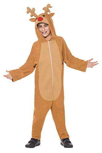 Smiffy's Smiffys - Disfraz de reno, color marrón