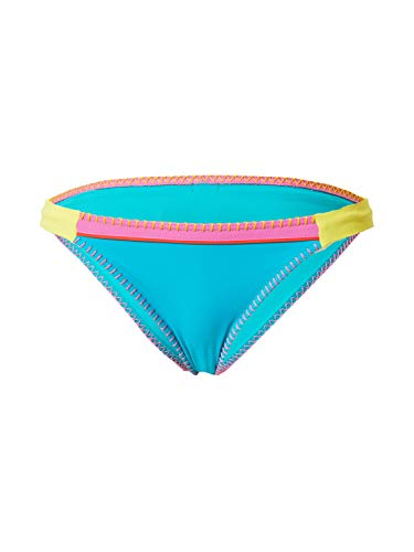 Banana Moon - Braguita de Bikini - Clásica Fresia TEKNICOLOR - Azul - Taille Fabricant : XXL