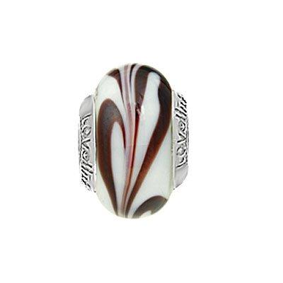 Lovelinks 11821161-99 'Tiramisu' Murano Glass