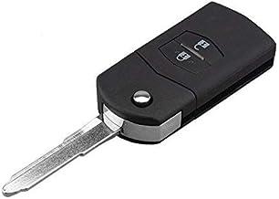 Pro-Plip - Carcasa para Llave de Mazda CX-5, CX-7, CX-9, RX8, MX-5, BT50, 2, 3, 5, 6, con Mando a Distancia