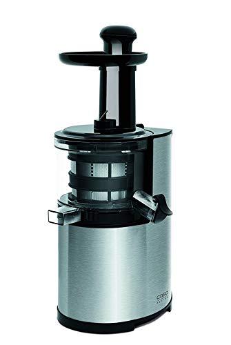 CASO SJ200 Design Entsafter, Slow Juicer für schonendes und sanftes entsaften von Obst, Gemüse und Kräutern, BPA frei