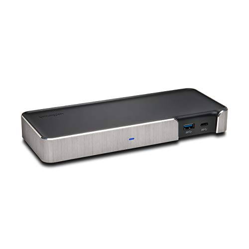 Kensington SD5200T Thunderbolt 3 Docking Station - 170 Watts with Power Delivery - Dual Monitor 4k for Mac and PC (K38300NA)