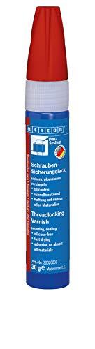Weicon 30020030 Schraubensicherungslack 30g rot – Schrauben-Sicherung & Korrosionsschutz