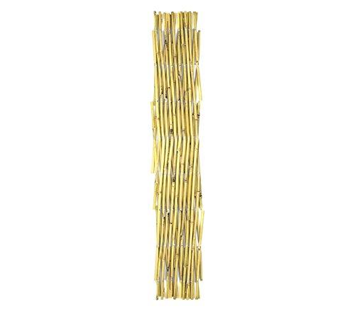 MEDIAWAVE Store uittrekbare bamboestok 377529 tuinhek 90 x 240 cm