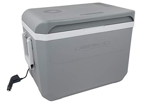 Campingaz Powerbox Plus Thermoelektrische 12V Kühlbox, Hochleistungs-Kühlbox Auto, mit UV Schutz, 36 Liter