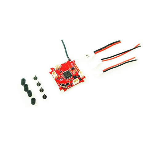 Vige Crazybee Tiny Betaflight F3 Flight Controller mit Flysky-Empfänger / Blheli_S ESC / OSD / Stromzähler für RC Whoop Racing Drohne - Rot