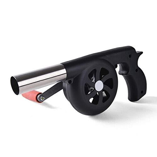 Haushalt Grill-Picknick-Werkzeughandbuch-Ventilator-Luft-Gebläse bewegliche leichtes Grill Lagerfeuer Durable Kochen im Freien Camping BBQ-Luft-Gebläses QiuGe