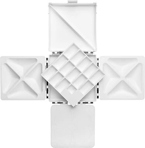 Cloverleaf Paint Box by Barry Herniman : 12.5x12.5cm (closed)