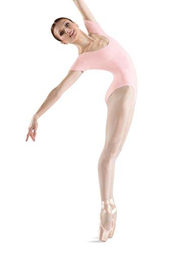 Bloch Dance Damen Cavalier Klassischer Kurzarm-Trikot, Damen, Hellrosa Farbe, Medium