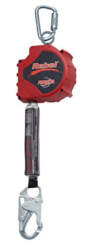 3M 3100431 Protecta Rebel Self Retracting Lifeline, Red/Black, 20'