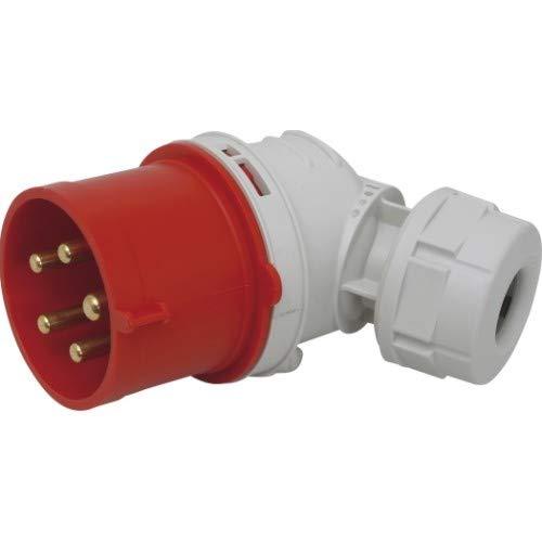 SIROX® CEE-Winkel-Stecker IP 44, 5-polig, 400 V, 6 h Stromstärke 16 A