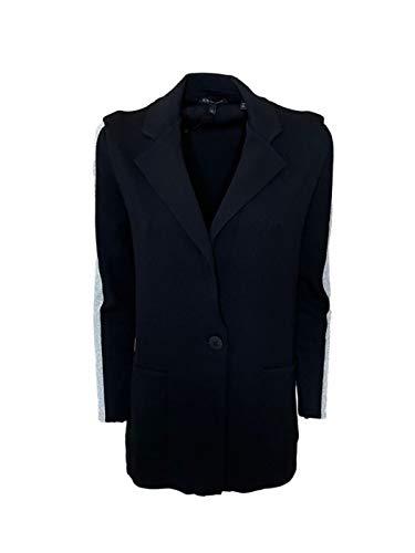 Armani Exchange Single Breast Blazer, Negro, L para Mujer