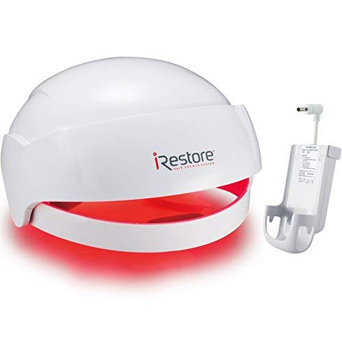 SaIe: iRestore Laser Hair Growth System + Rechargeable Battery Pack – FDA-Cleared Hair Loss Product - Treats Thinning Hair for Men & Women - Laser Hair...