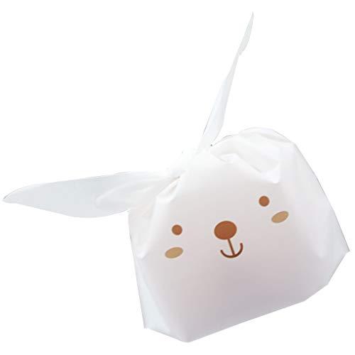 Fornateu Süßigkeit, Keks, Keks Beutel Lebensmittel-Pakete Nette Katzenohren Geschenk-Verpackungs-Beutel-Ostern-Party-Dekoration