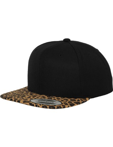 Flex fit Animal Snapback blk/Leopard One Size Casquette Unisex-Adult