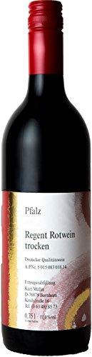 Pfälzer Regent Rotwein trocken 6 x 0,75 L Flasche direkt vom Winzer