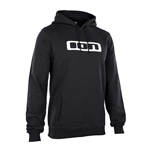 ION Hoody Logo Schwarz Gr. XL
