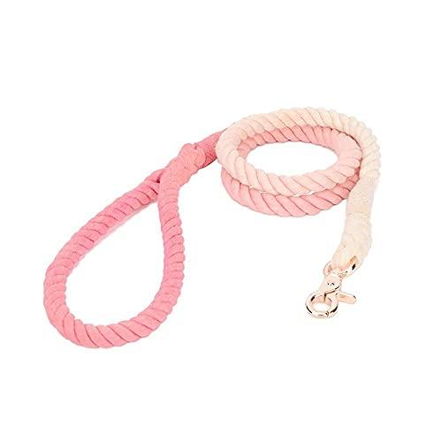 GODPAK – Correa de algodón trenzado, resistente al desgaste, para perro, cuerda de caminar, tracción, correa para perro, suministros (C)