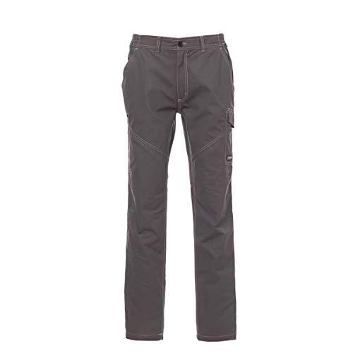 PAYPER deva store Pantaloni da Lavoro multistagione Cotone 100% Comodi e Resistenti (Smoke, 52/54)