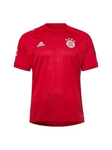 adidas Herren 20/21 FC Bayern Training Jersey Trainingstrikot, Fcbtru/Black, XL