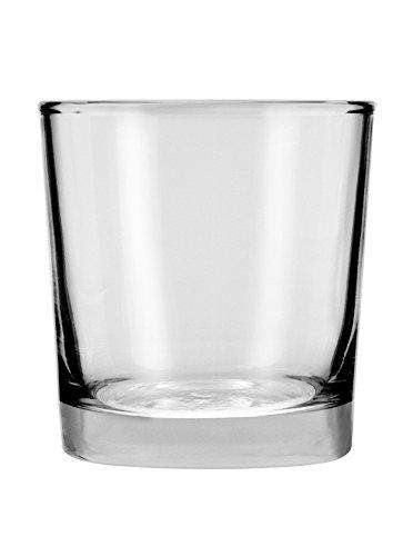 Anchor Hocking Heavy Base Rocks Old Fashioned Whiskey Glasses, 9 oz (Set of 12) - 3178EZ