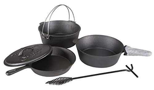 Stansport Pre-Seasoned Cast Iron Set review
