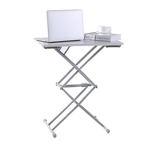 Klapptisch Einstellbare Start Balkon im Freien Hebe Computer-Schreibtisch Einfach Esstisch beweglicher kleiner Schreibtisch