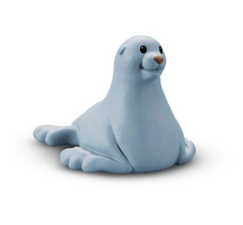 Fisher-Price - W2595 - Figurine - Jouet d'Eveil Premier Age - Animaux du Zoo Little People - Otarie