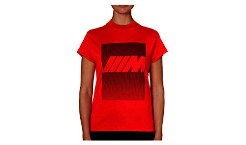 BMW Original M T-Shirt Damen Rot - Kollektion 2020/21 Größe M