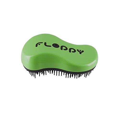 Floppy, Cepillo para el pelo (Cepillo), colores aleatorios, 4 de 120 gr. (Total: 480 gr.)