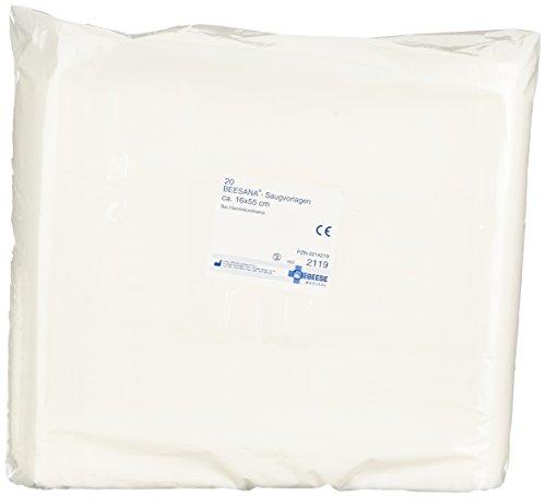 Meditrade 2119 Beesana zuigpatroon met superabsorber, 16 cm x 55 cm grootte (20 stuks)
