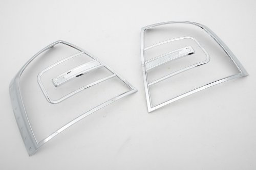 Autochrome Cubierta cromada para faros traseros para Skoda Octavia MK2 04-08