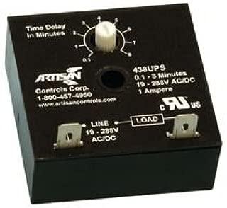 ARTISAN CONTROLS 438UPS SOLID STATE TIMER, 480SEC, 288VAC/DC