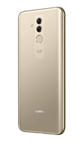 Huawei Mate20 lite Dual Nano-SIM Smartphone BUNDLE (16 cm (6.3 Zoll), 64GB interner Speicher, 4GB RAM, 20MP + 2MP Kamera, Android 8.1, EMUI 8.2) Platinum Gold [Exklusiv bei Amazon] - Deutsche Version - 6