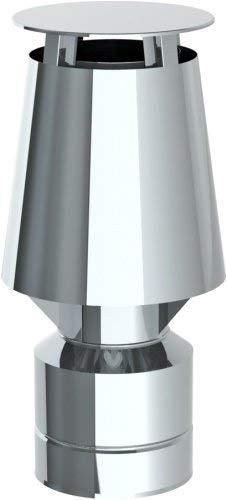Düsenaufsatz mit Universaleinschub für Schornstein Einwandig und Doppelwandig Mündungsabschluss Auswahl-JET-Aufsatz JET-225