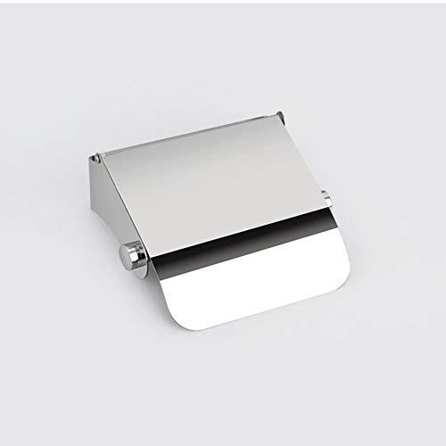 QCCOKNN Portarrollos de papel higiénico con soporte para papel higiénico Dispensador para rollo de papel higiénico con placa de cobertura para accesorios de baño | Portarrollos de papel higiénico