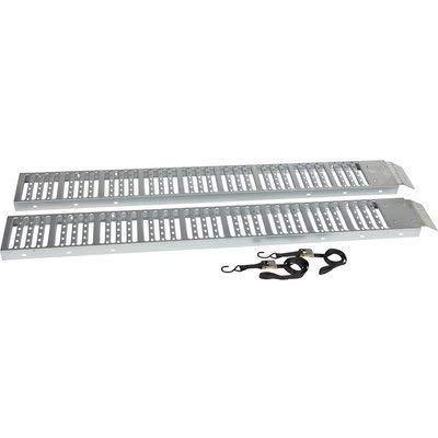 Ironton Non-Folding Steel Loading Ramp Set - 1000-Lb. Total Capacity, 6ft.L x 9in.W