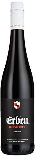 Erben Dornfelder Lieblich – Fruchtig-milder Rotwein aus Deutschland (1 x 0.75 l)