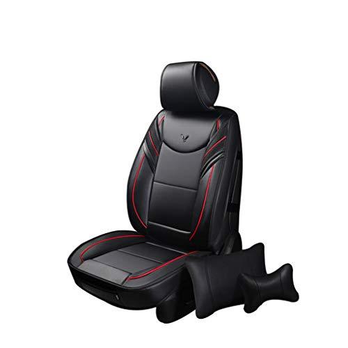 HRFHLHY - Funda para asiento de coche para cuatro estaciones, de piel, compatible con Jaguar Series: