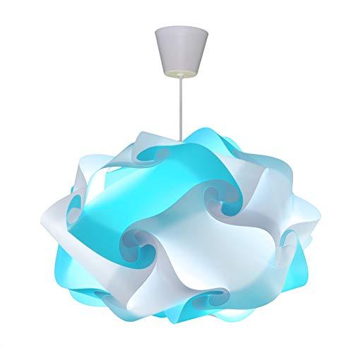 CREATIV LAMP - Suspension Luminaire   Abat-Jour à Suspendre au Plafond   Pour Décoration Salon, Chambre Enfant, Ado, Adulte   Ø40 cm