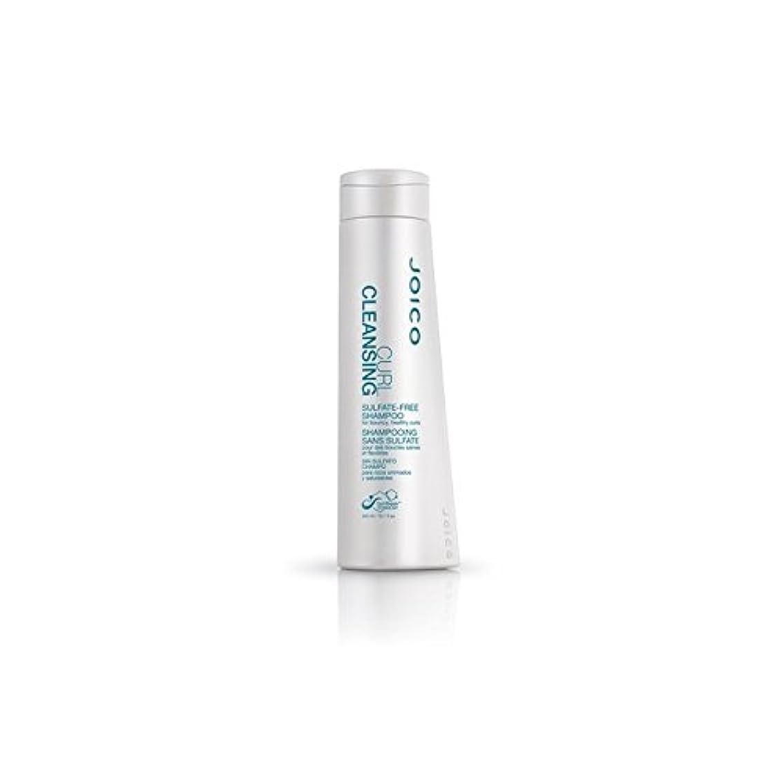 噂エキス紀元前快活、健康カール用ジョイコカールクレンジング硫酸フリーシャンプー(300ミリリットル) x2 - Joico Curl Cleansing Sulfate-Free Shampoo For Bouncy, Healthy Curls (300ml) (Pack of 2) [並行輸入品]