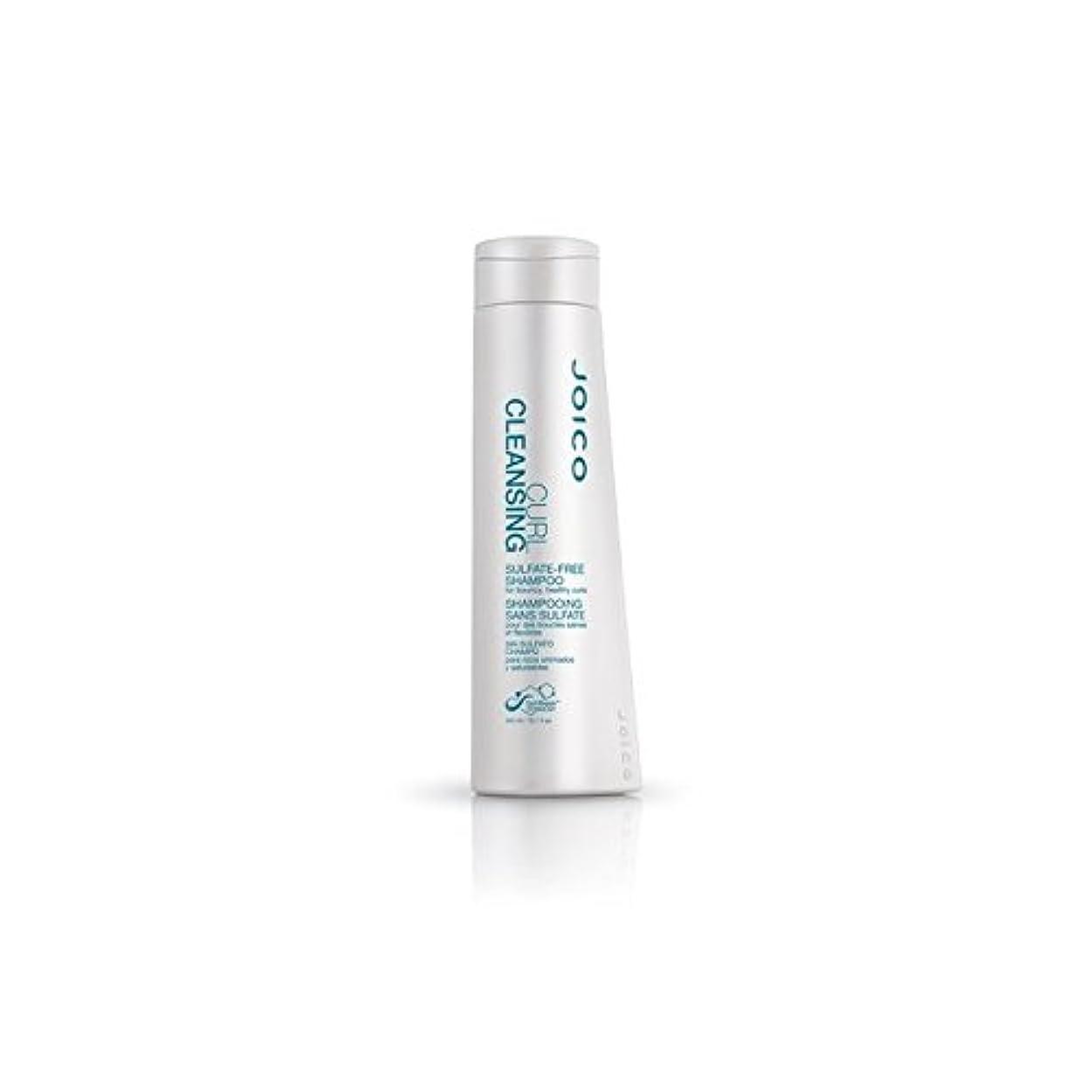 ファックス反対に煙快活、健康カール用ジョイコカールクレンジング硫酸フリーシャンプー(300ミリリットル) x4 - Joico Curl Cleansing Sulfate-Free Shampoo For Bouncy, Healthy Curls (300ml) (Pack of 4) [並行輸入品]