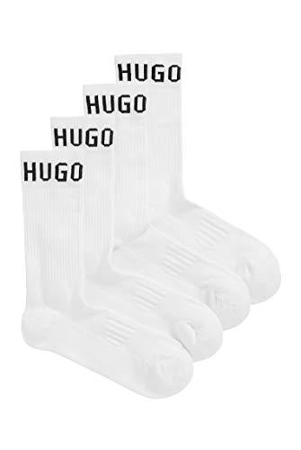 BOSS Herren 2P RS Sport CC Sportive Socken aus elastischem Baumwoll-Mix mit Logo im Zweier-Pack
