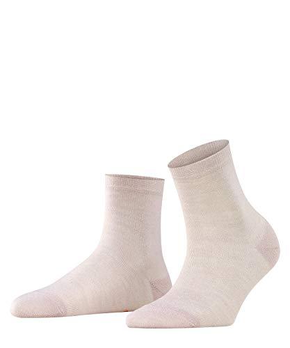 BURLINGTON Damen Socken Ladywell - Viskosemischung, 1 Paar, rot (lotus 8671), 36-41