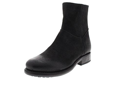 Blackstone Damenschuhe - Stiefeletten MW52 - Black, Größe:37 EU