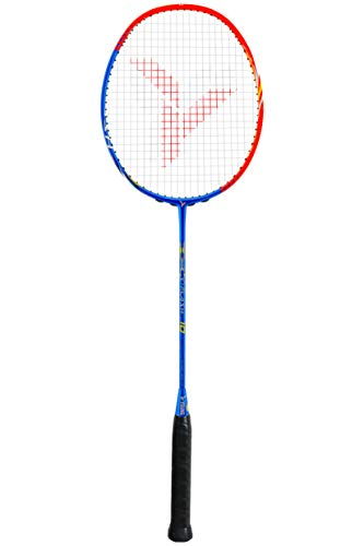 Young Y-Flash 10 Professional Badminton Racket, Lightweight, Head Balance, ONE Piece High Modulus 24-Ton Graphite (NO T-Joint), Strung 24-lb (Yang Yang Rambo 0.68mm), Carrying Bag