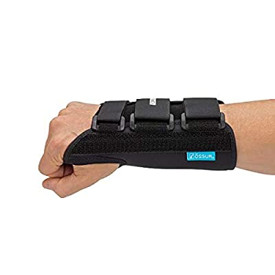 """Ossur Formfit Wrist Brace for Treatment of Tendonitis - Wrist Immobilization, Breathable Material, Contact Closure Straps & Customizable Stays - 8"""" Version (Right, Medium)"""